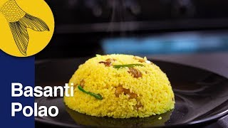 Polao RecipeBasanti or Mishti Polao RannaBengali Sweet PolaoNababarsha Special Recipe