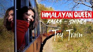 Toy Train To Shimla, Himalayan Queen 1st class Kalka-Shimla Full Journey
