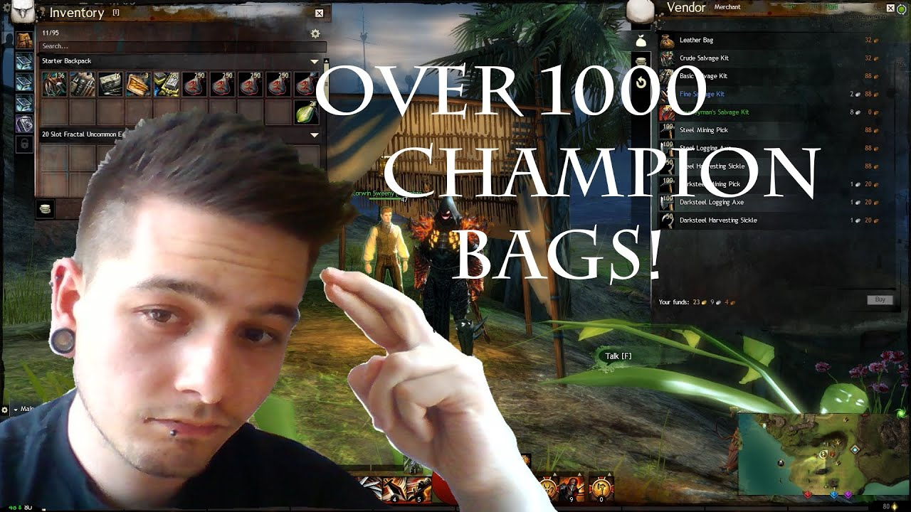 how to make bigger bags in guild wars 2