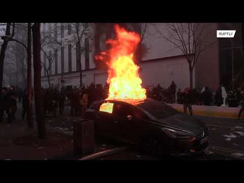 Paris a battleground as security bill protests turn chaotic