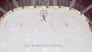 NHL 15   Обучение для новичков   Как забивать голы с помощью щелчков