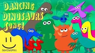 Dinosaur Song for Kids | Sing Along with Swamp Deer - Dino Numbers Song