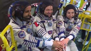 ציור של רונה רמון וקוראן: שיתוף פעולה חוצה-גבולות בחלל