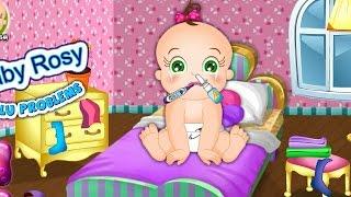 NEW Игры для детей—Disney Принцесса Малышка Рози проблемы—мультик для девочек