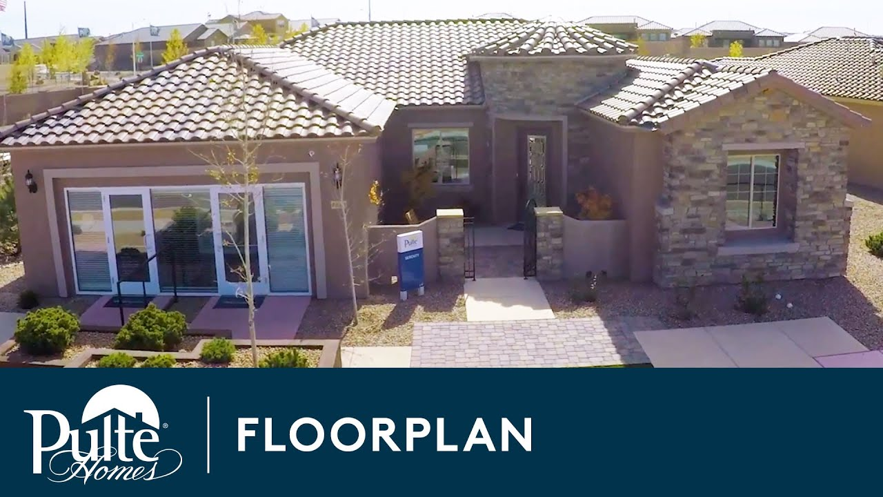 New Home Designs Ranch Home Serenity Home Builder Pulte Homes Youtube