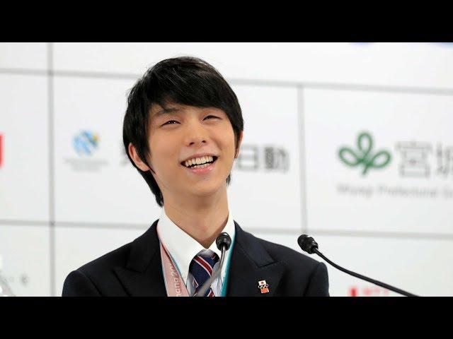 「復興のきっかけになるように」 羽生選手、仙台で会見