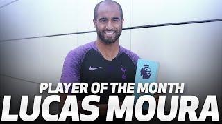 LUCAS MOURA WINS EA SPORTS PREMIER LEAGUE PLAYER OF THE MONTH!