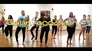 Gallan Goodiyaan (Dil Dhadakne Do) || Bollywood Dance || Choreography by Francesca McMillan