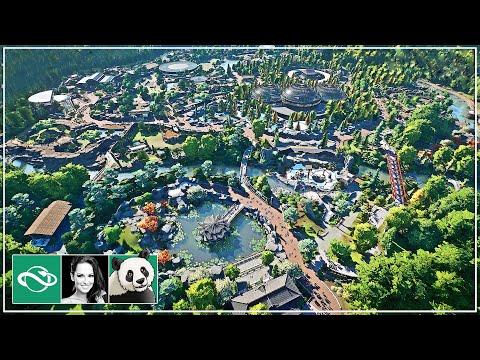 🐼 Zoo Tour | Meilin Zoo | Planet Zoo | Walkthrough | Sandbox |