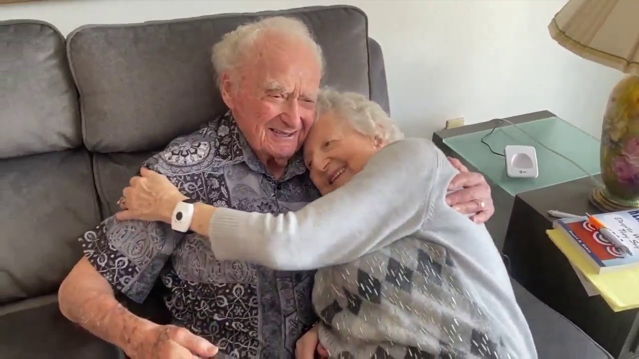 107-year-old Sarasota man living life to the fullest with sports car, fiancé and positive attitude