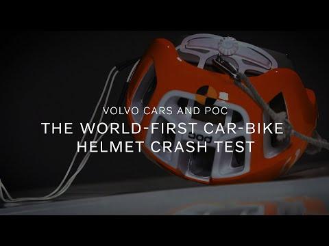 Volvo Cars and POC - the world-first car-bike helmet crash test
