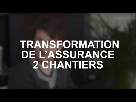 Transformation digitale de l'assurance : 2 chantiers, interm