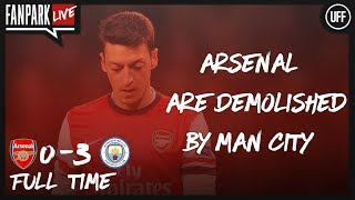 Arsenal Are Demolished by Man City - Arsenal 0-3 Manchester City - FanPark Live