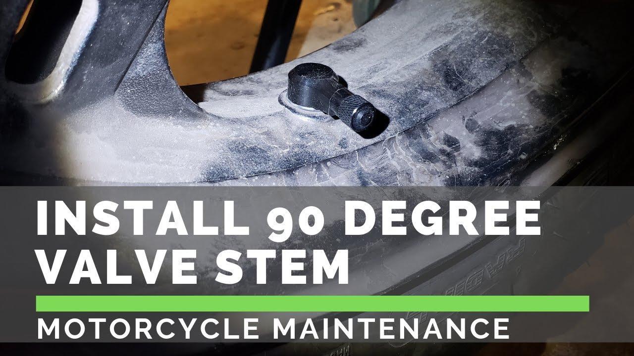 90 Degree Angle CNC Aluminum Tyre Valve Stem Motorcycle Motorbike Tools OO