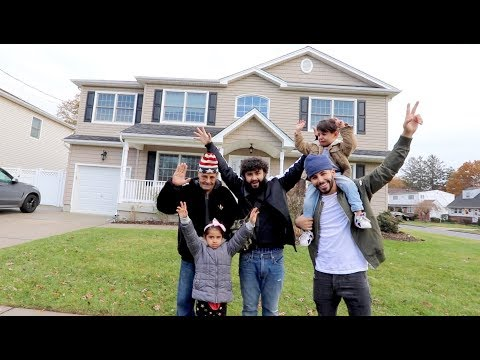 Download Youtube: SURPRISED MY FAMILY WITH A NEW HOUSE!! *my dad cried*