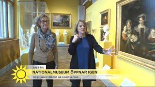 Nationalmuseum öppnar igen på lördag – få en smygtitt redan nu - Nyhetsmorgon (TV4)