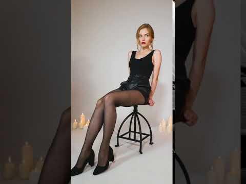 Divine Paris - CONSTANTE Collant QUADRILLAGE avec PLUMETIS BRILLANT effet STRASS