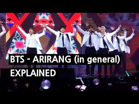 BTS - ARIRANG (in general) Explained by a Korean