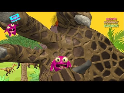 Kids Meet Dinosaurs From The Cretaceous Period   Prehistoric Adventure   Mighty Morphin