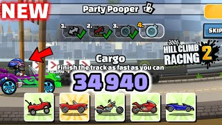 Hill Climb Racing 2 - 34940 points in PARTY POOPER Team Event