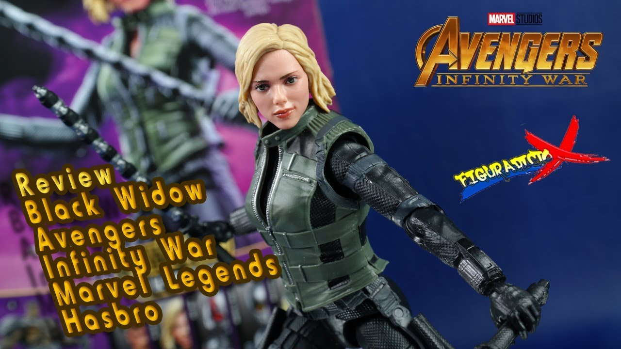 Review Black Widow Avengers Infinity War Marvel Legends Cull Obsidian Baf 2018 Revision Espanol