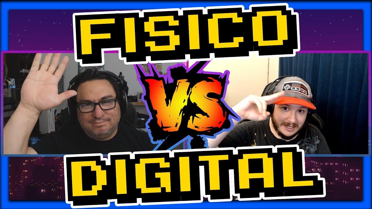 JUEGO FISICO VS DIGITAL + Preservación de VIDEOJUEGOS RETRO con Artemio Urbina [PODCAST]