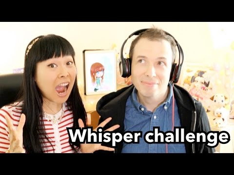 WHISPER CHALLENGE en couple | Dur de lire sur les lèvres de Morgan