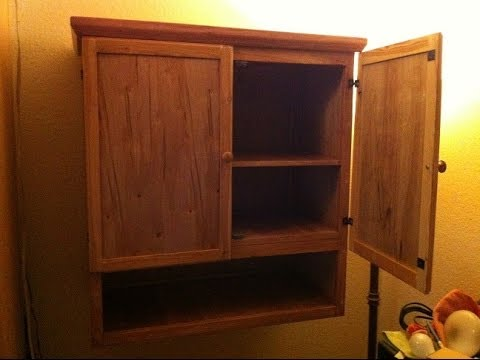 Superieur Home Made Cabinet Using Cheap Wood, Total Cost $20
