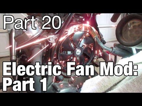 Honda CX500 Electric Fan Mod Part 1 - Moto Fugazi Build Part 20