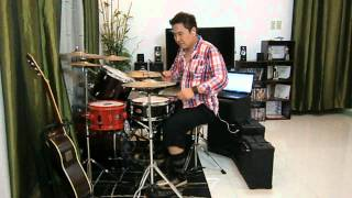 Repeat youtube video SLAM DUNK Anime (Opening Theme Song) DRUM COVER by Bryan Arcega