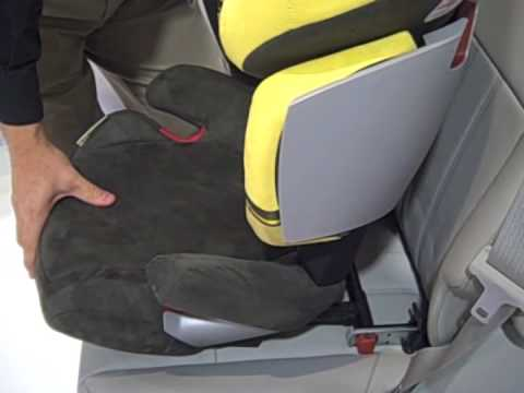 cybex solution x fix booster seat youtube. Black Bedroom Furniture Sets. Home Design Ideas