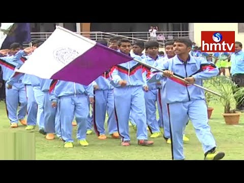 CBSE Cluster 2017 Athletic Meet | 2nd Day Highlights | Hyderabad | hmtv