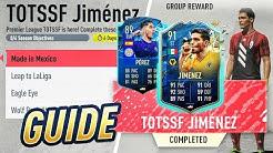 HOW TO GET TOTSSF JIMENEZ & PEREZ QUICKLY!! (FIFA 20) Season 6 Objectives