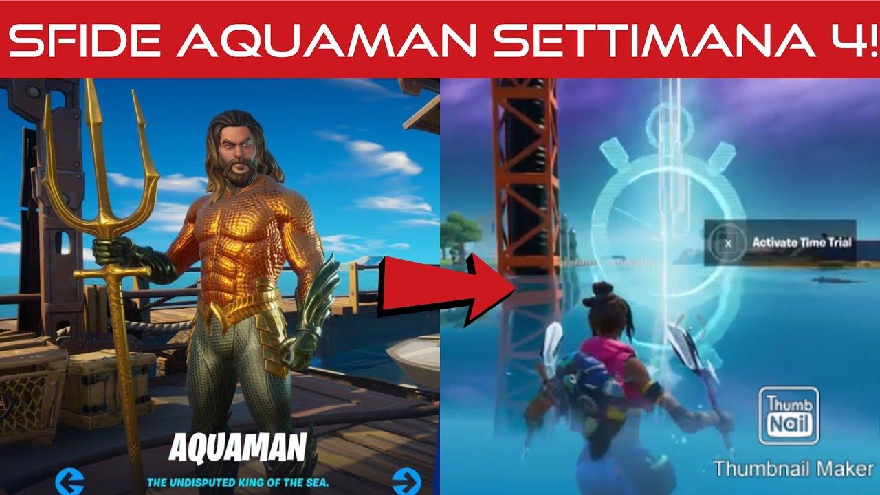 Download SFIDE AQUAMAN SETTIMANA 4📌COME RISCATTARE IL BACKPACK DI AQUAMAN !!