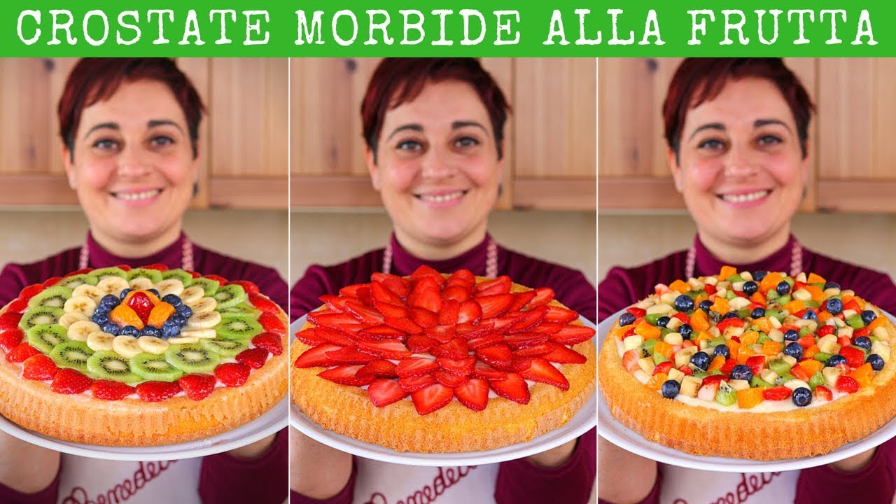 crostata morbida alla frutta ricetta facile fatto in
