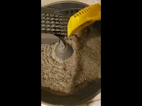 Cleaning Demo PetSafe Simply Clean 'Self-Cleaning' Cat Automatic Litter Box With Clumping Cat Litter