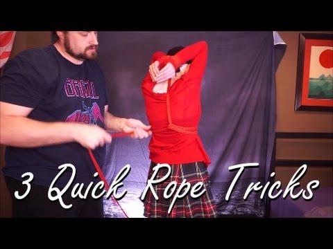 Three Simple Rope Bondage Ties And Tricks