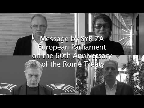 SYRIZA MEPs on the 60th Anniversary of the Rome Treaty
