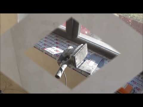 Шлифовка стен шлифовальной машиной ПШМ интерскол