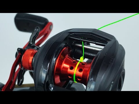 Fishing Knot/How To Spool A Baitcaster Reel