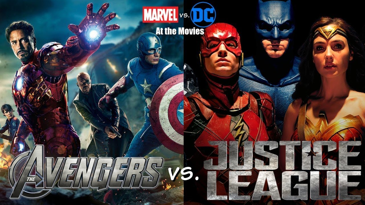 Download The Avengers vs. Justice League: Marvel vs. DC At the Movies