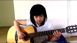 DIỄM XƯA - Guitar bé Mẫn ngày xưa...