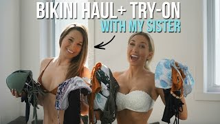 One of CathBastien's most viewed videos: BIKINI HAUL & TRY-ON | ZAFUL HONEST REVIEW with my sister
