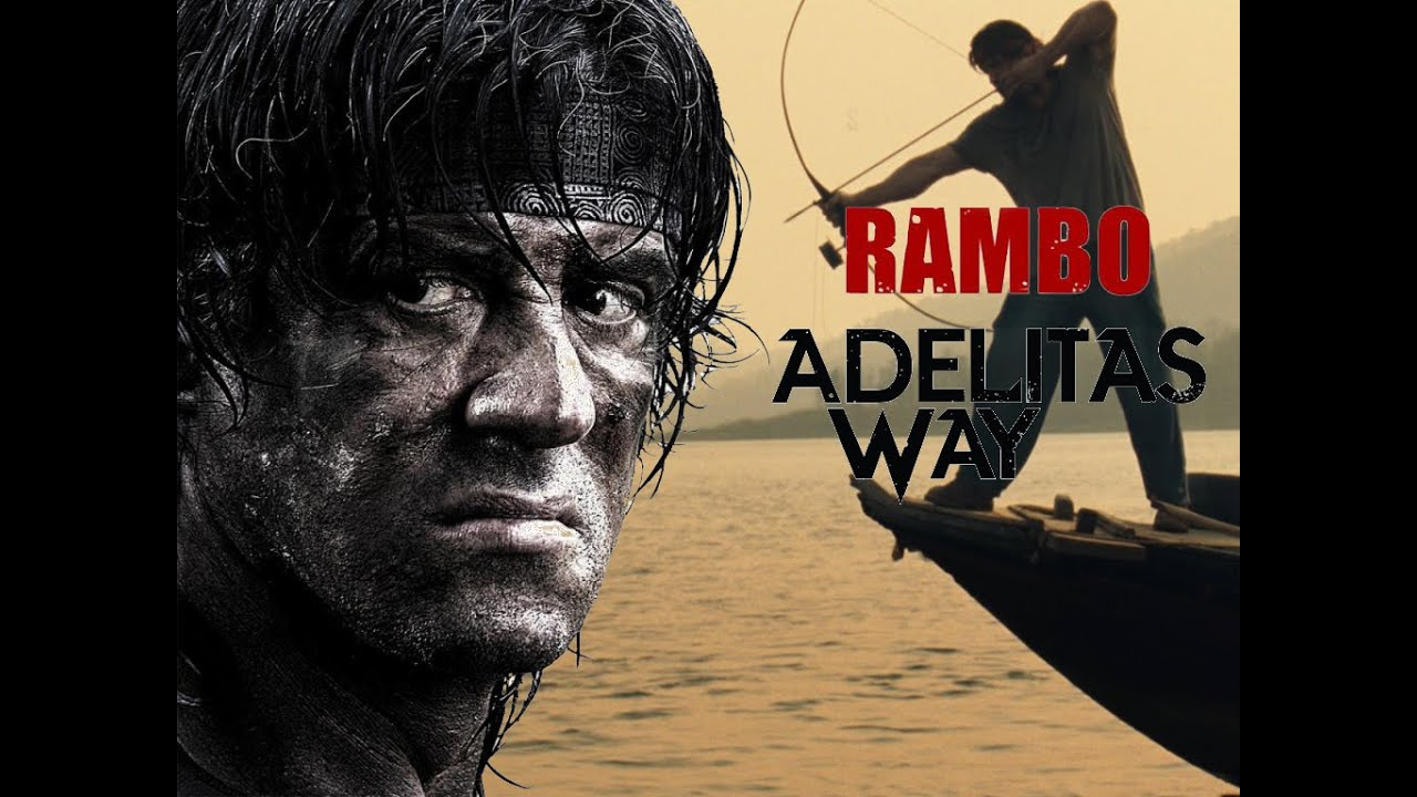 rambo 2008 adelitas way invincible music video fan made