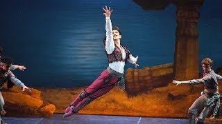 Le Corsaire: Erik Woolhouse as Birbanto (extract) | English National Ballet