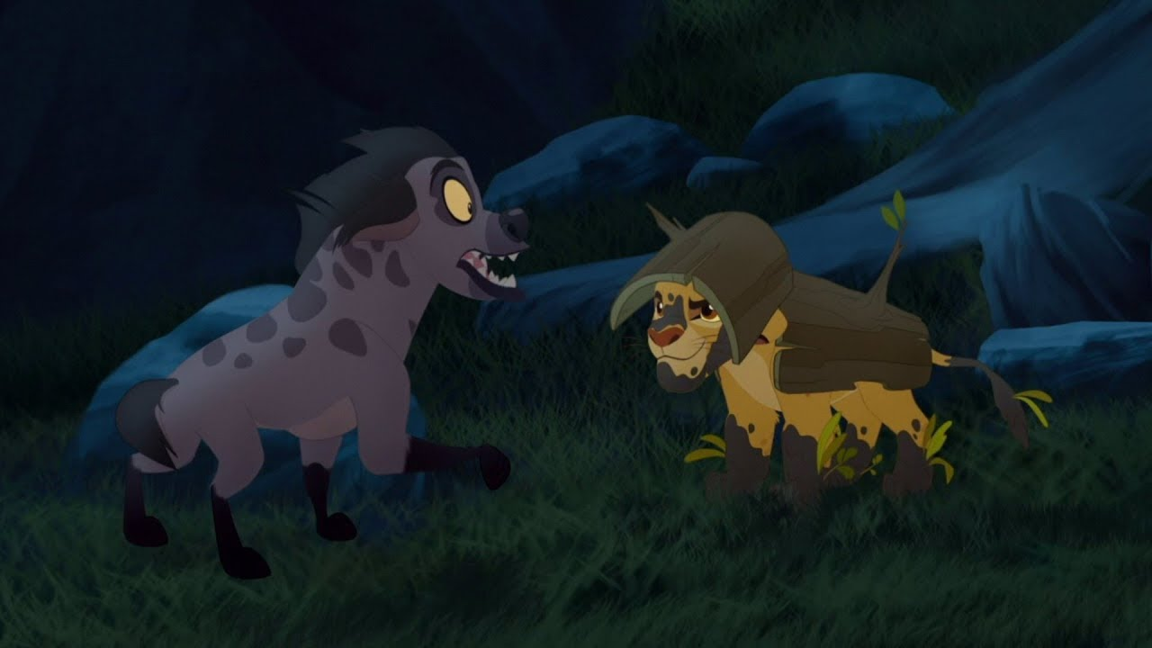 Download Lion Guard: The Guard's Camouflage | Undercover Kinyonga HD Clip