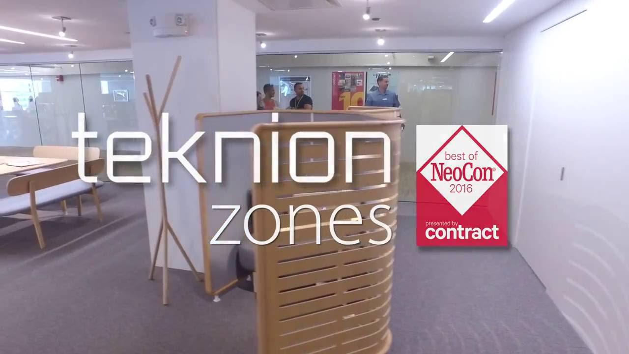 Charmant ISpace Furniture NeoCon 2016 Teknion Showroom Zones