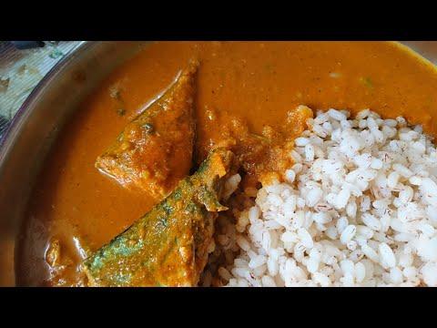 Bangude Kajipu /mackerel Fish Curry Mangalorean Style