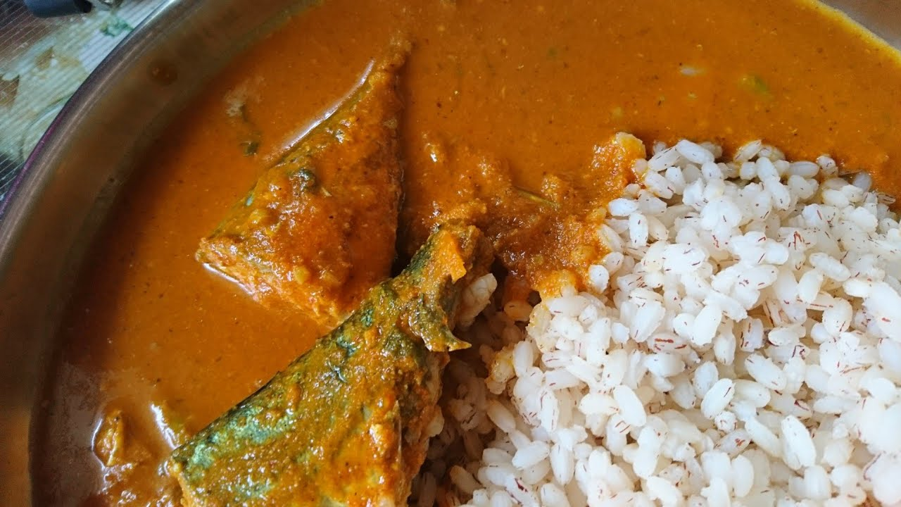 Bangude Kajipu Mackerel Fish Curry Mangalorean Style Youtube