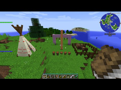 Minecraft 1 9 4 Totemic Mod Review (One Man Band!)